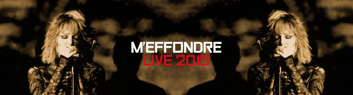 « M'effondre Live », premier single de l'album « Live 2019 »